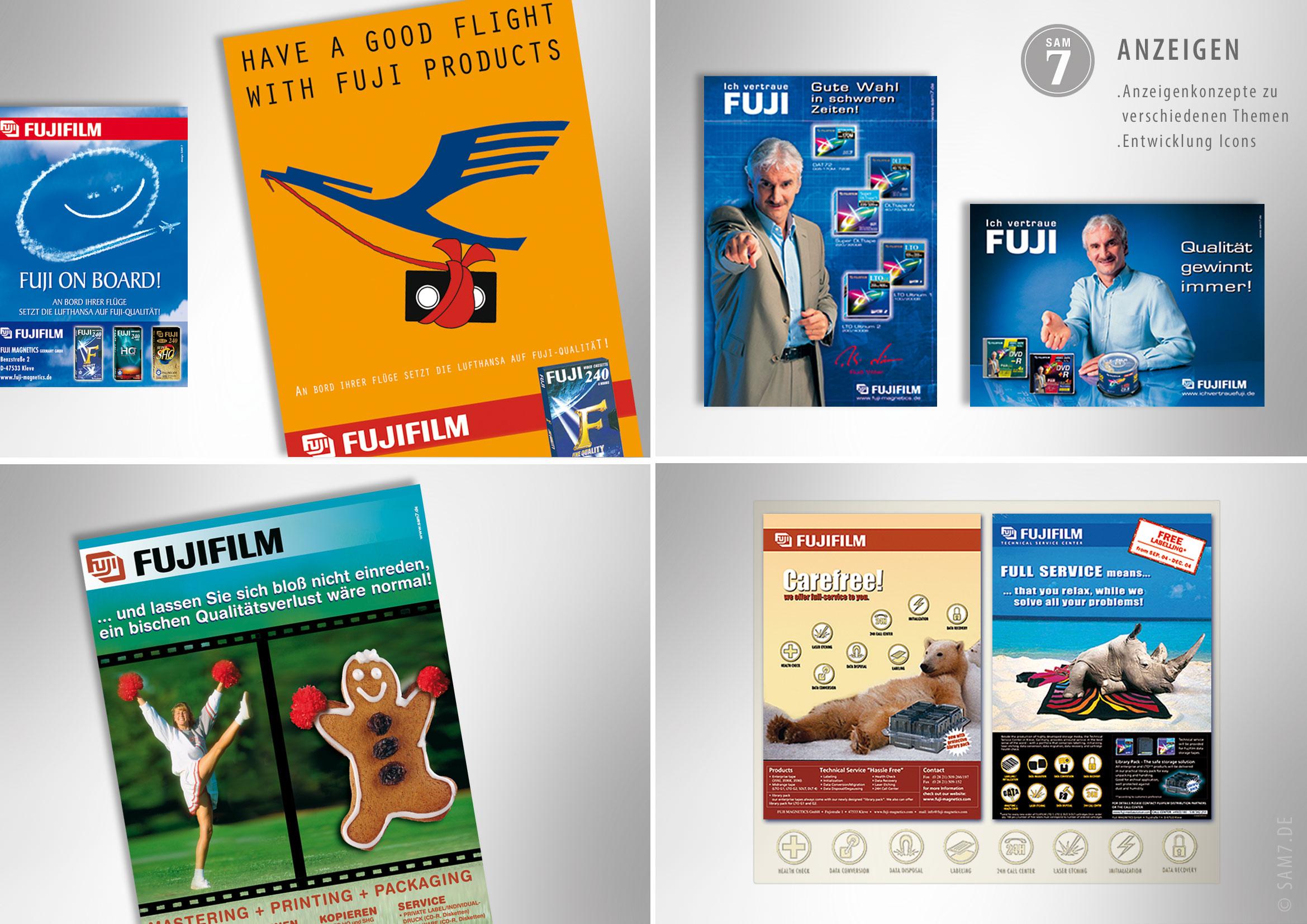 Advertising Fuji Anzeigen