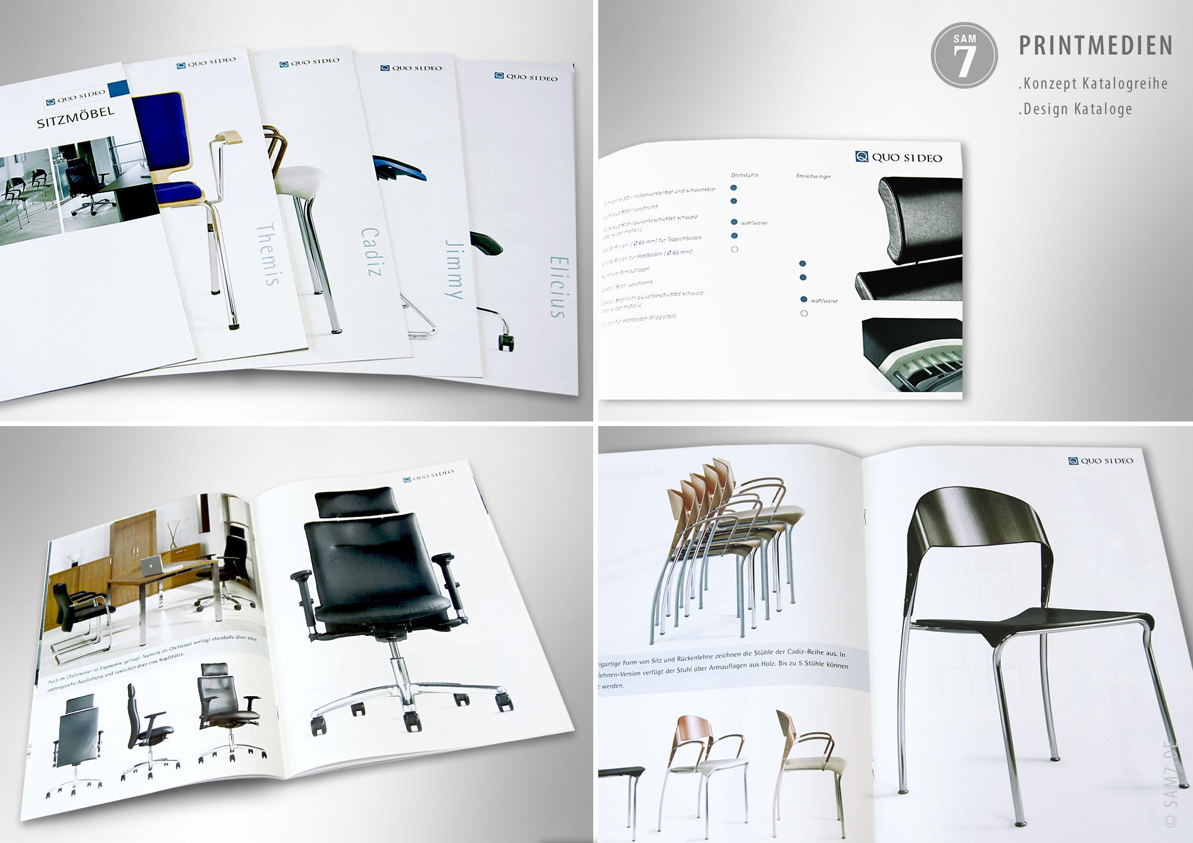 Katalogdesign. Konzept Kataloge.
