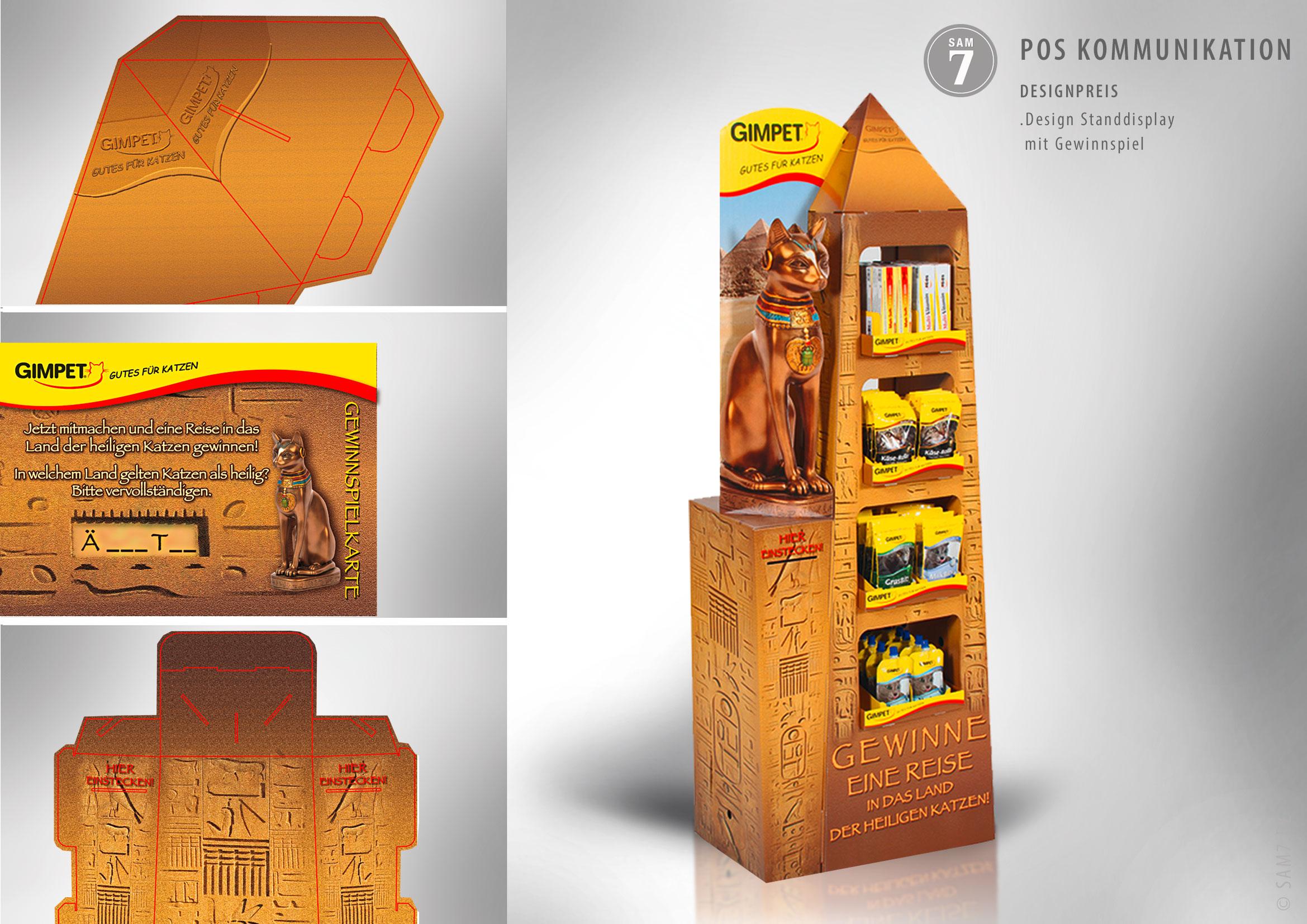 Display Design. Gold Gewinner Deutschland.