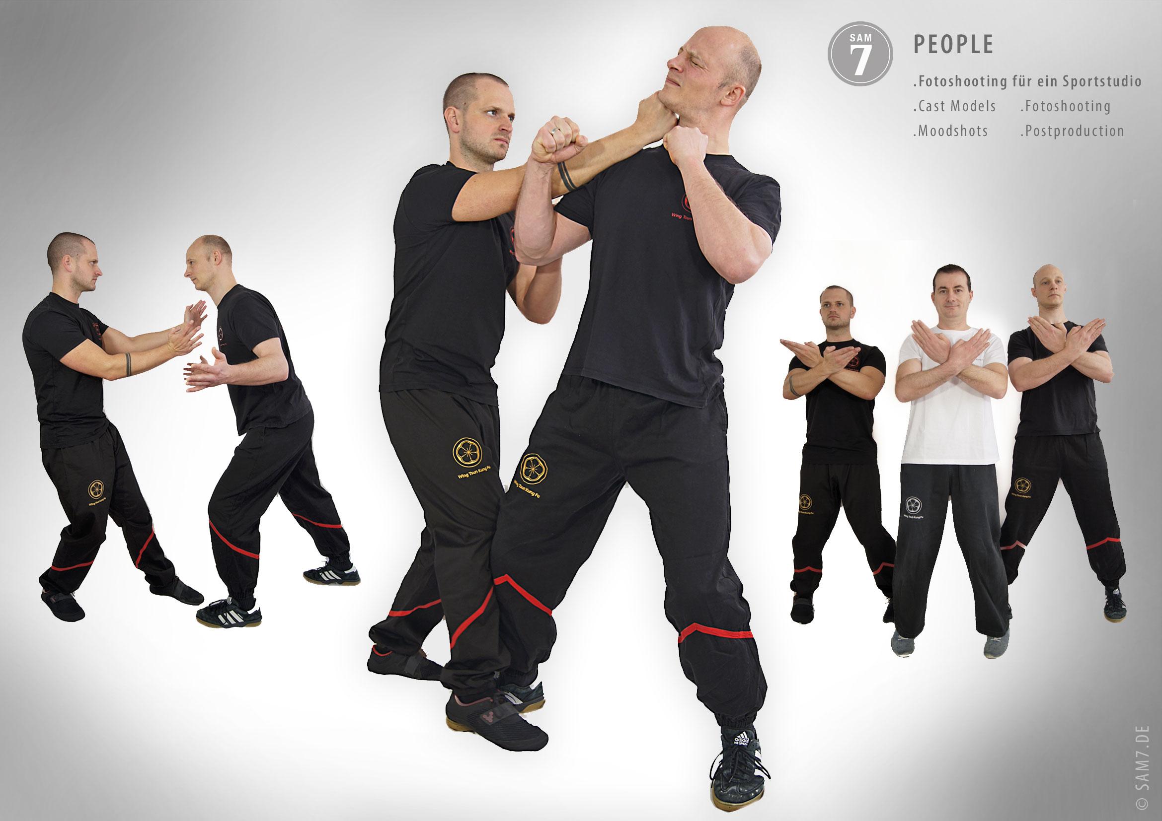 Fotoshooting People. Wing Tsun Kung Fu Kampfkunstschule.