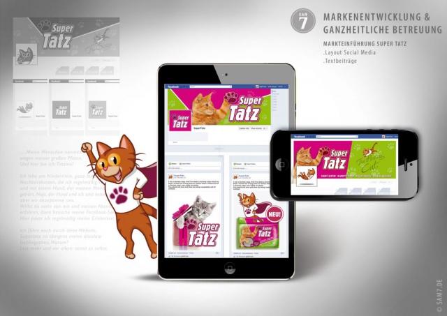SuperTatz. Social Media Design.