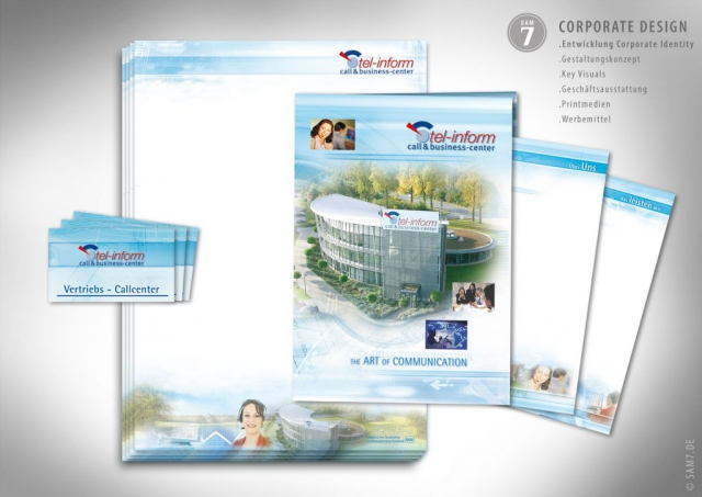 Tel-Inform Corporate Design