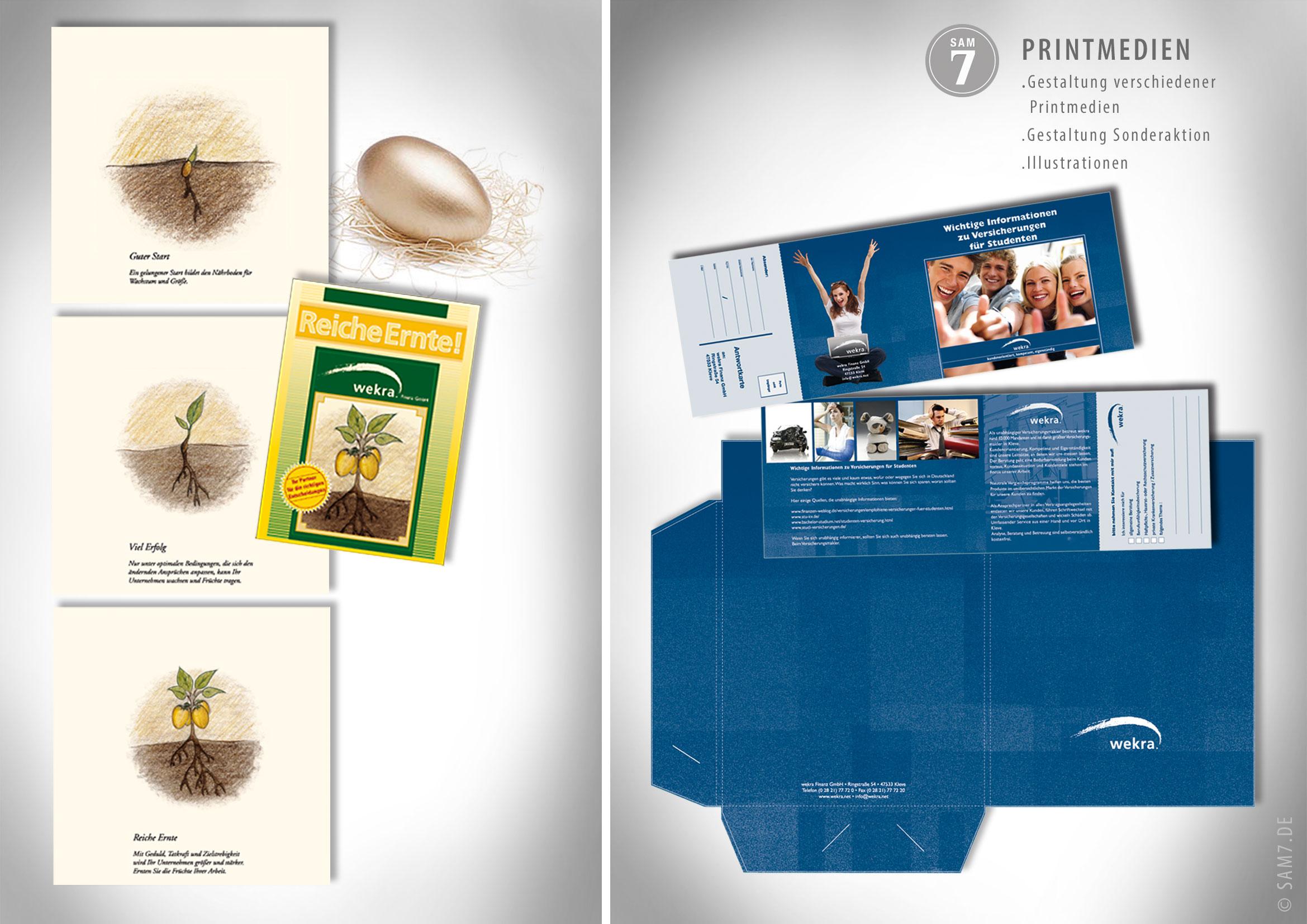 Printmedien. Wekra Finanz GmbH.