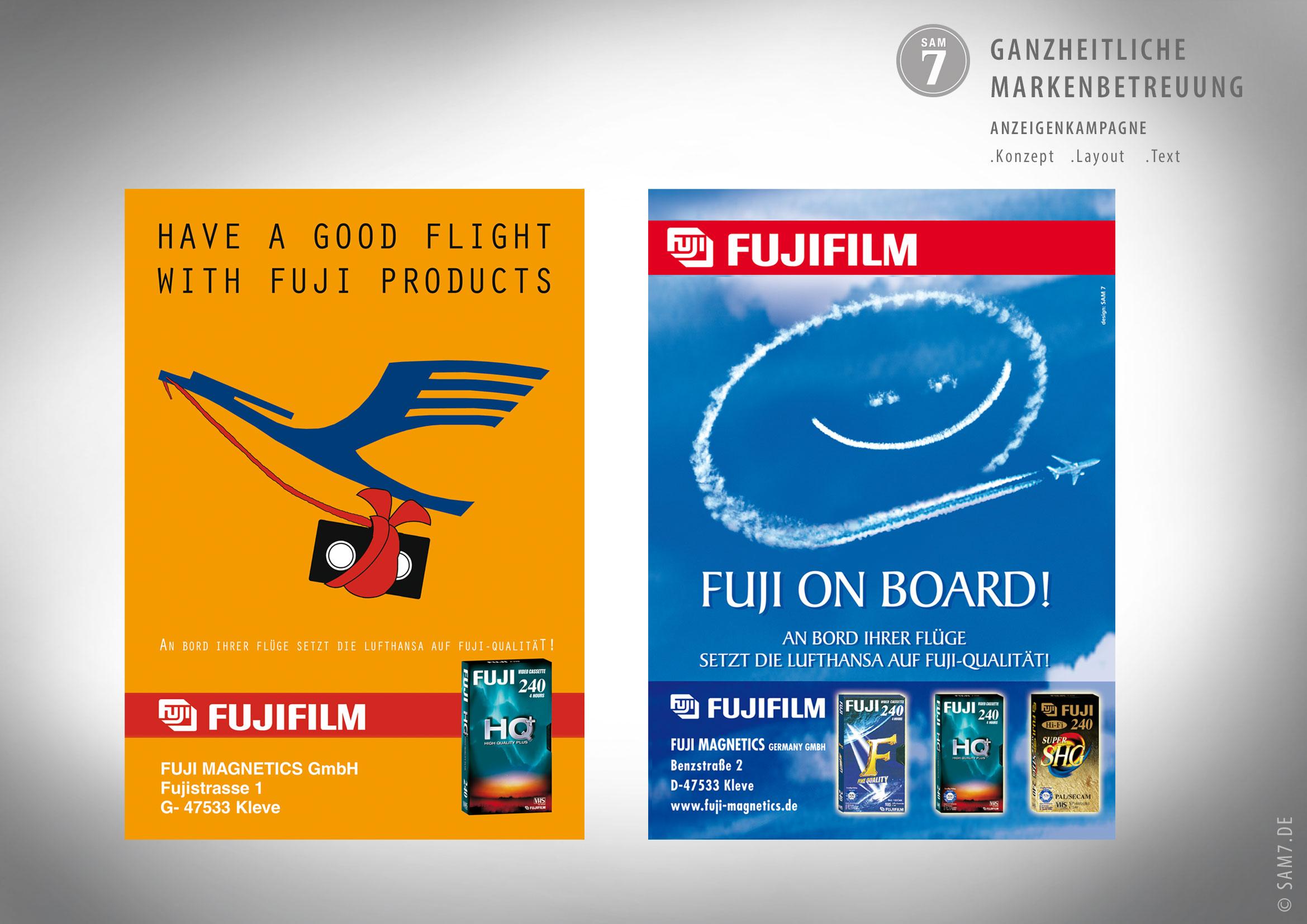 Design Anzeigen Fujifilm