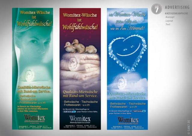 Anzeigenkampagne Womitex