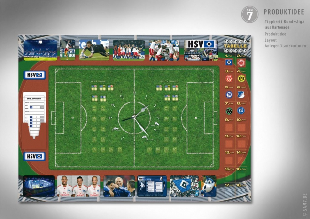 Design Tippbrett Bundesliga