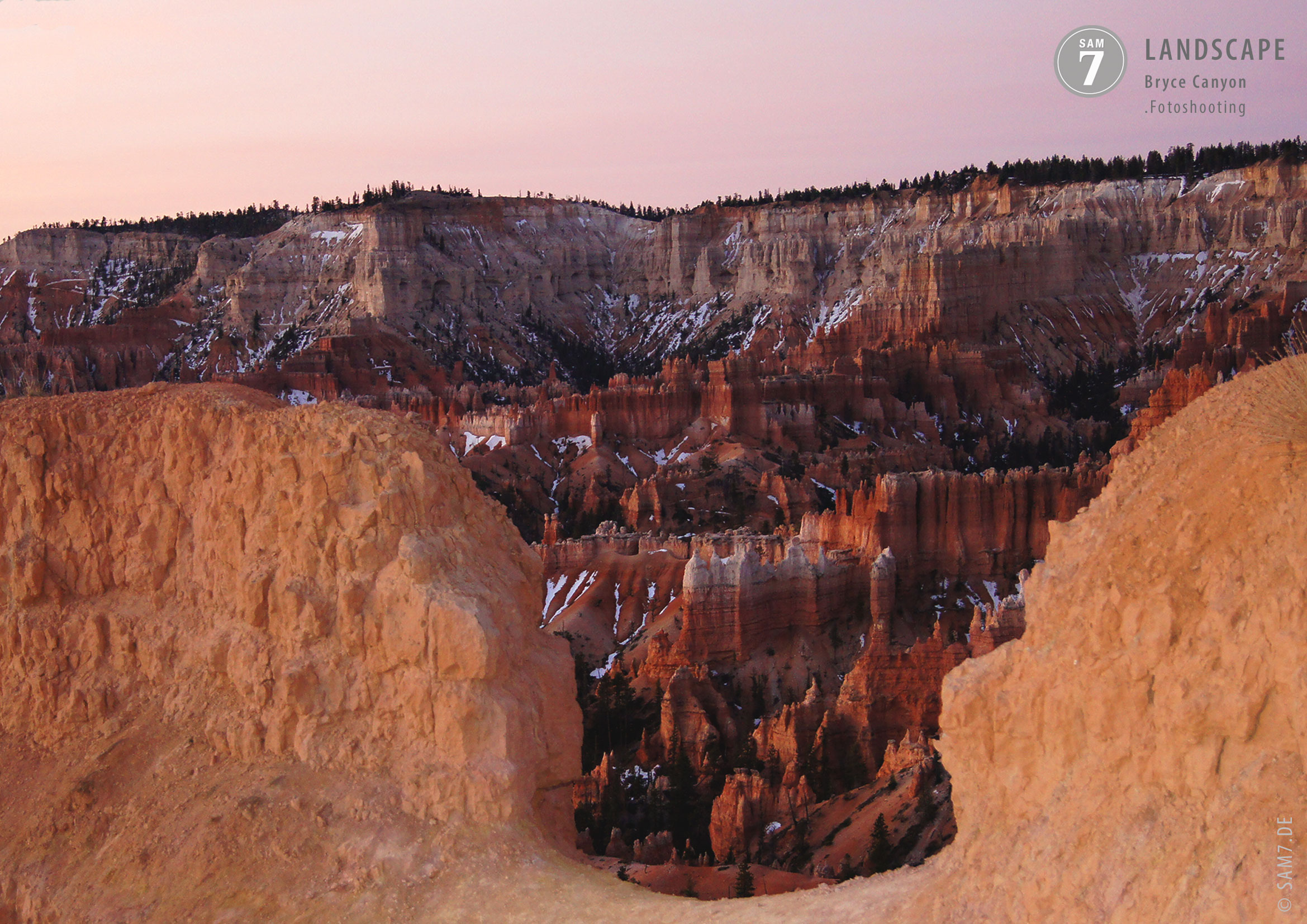 Fotoshooting Bryce Canyon Utah USA