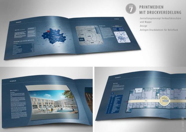 Design Broschüre. EVER.S München.