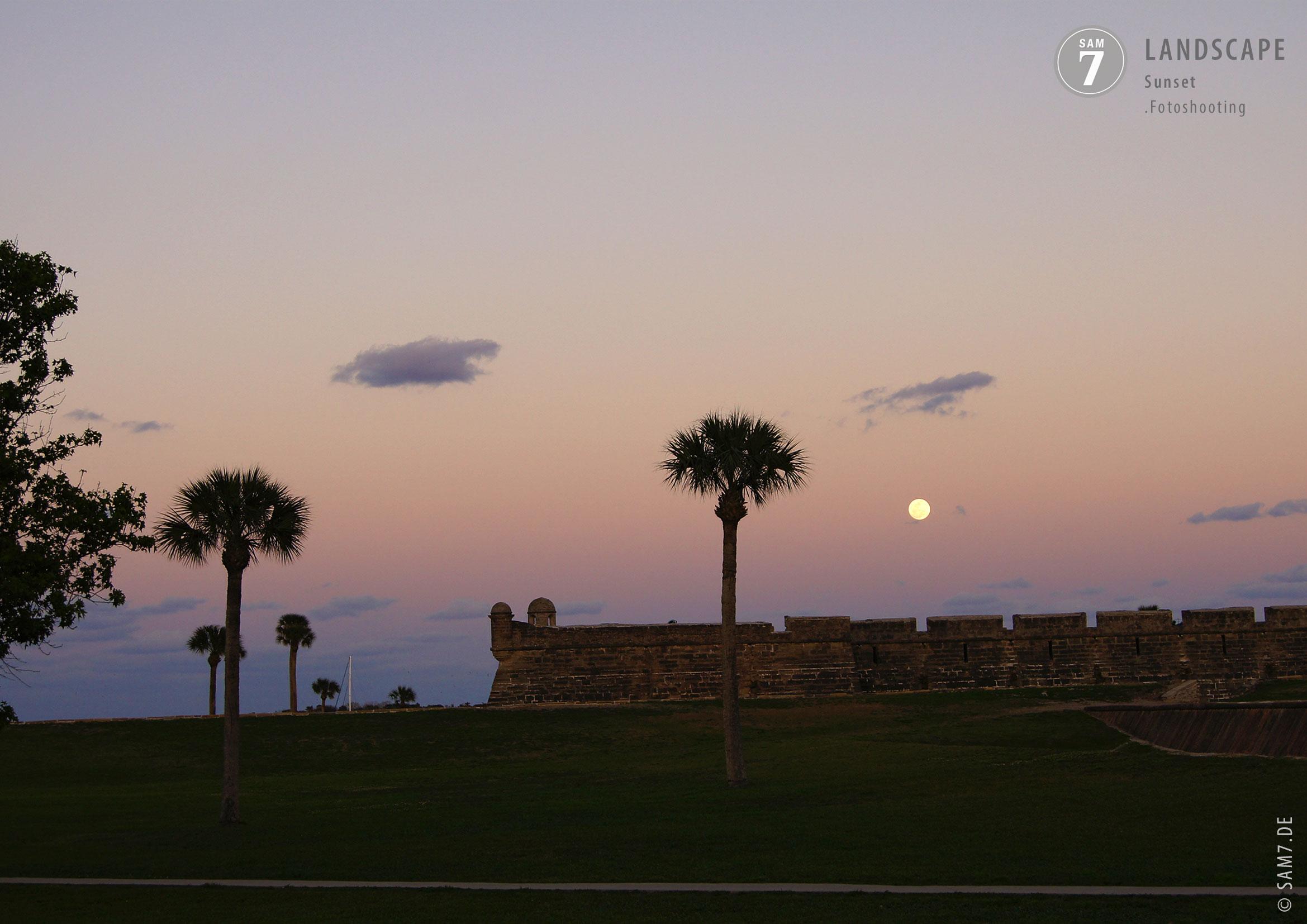 Landscape Photography. Sunset.