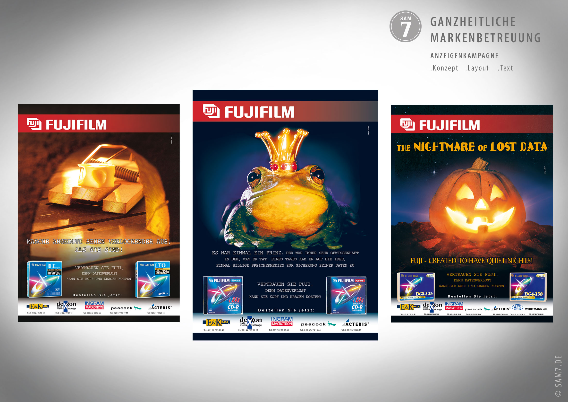 Anzeigenserie Fujifilm