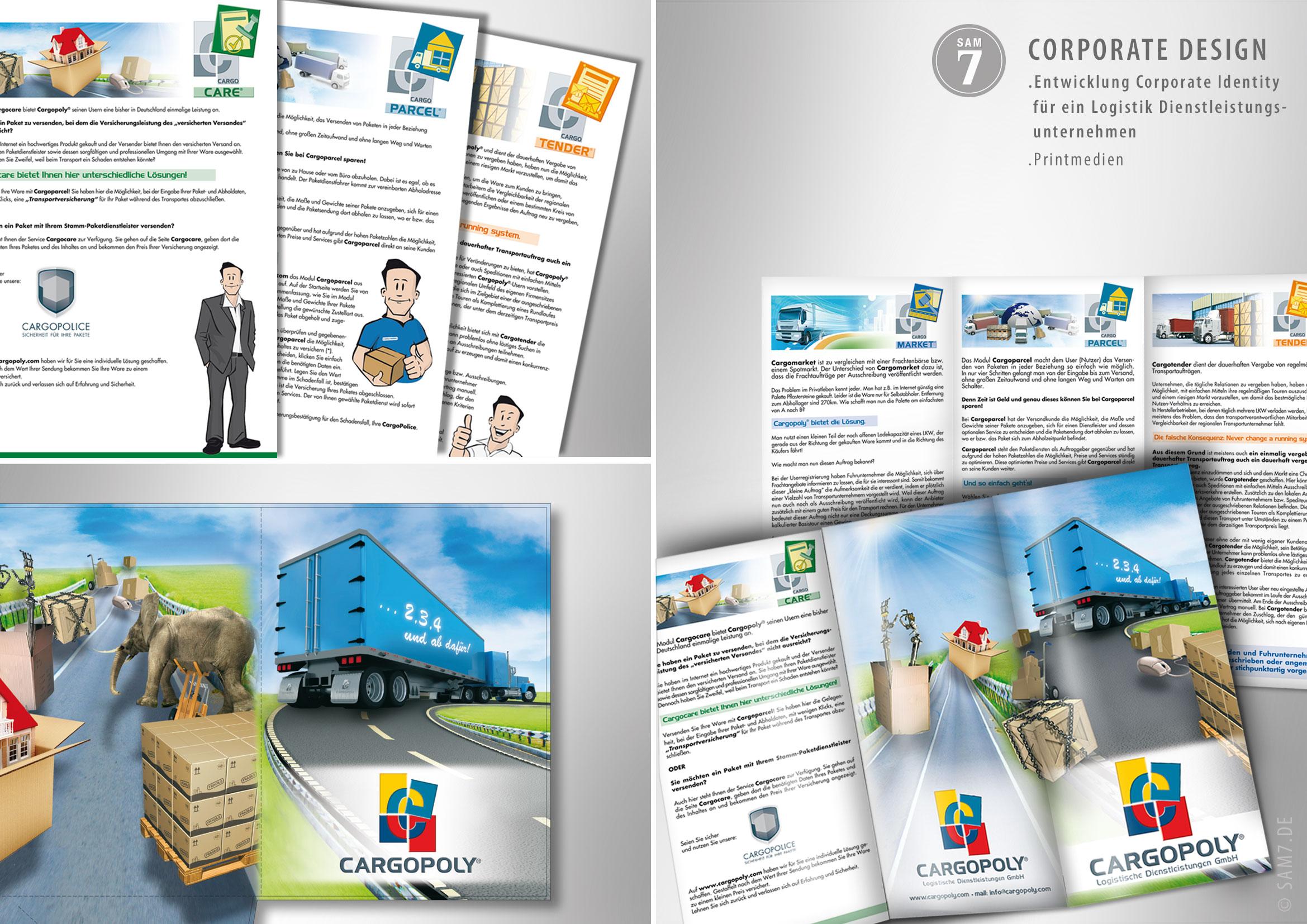 Print Media Design. Cargopoly®.